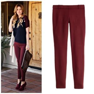 J. CREW Wool Minnie Skinny Ankle Crop Slim Pants 4